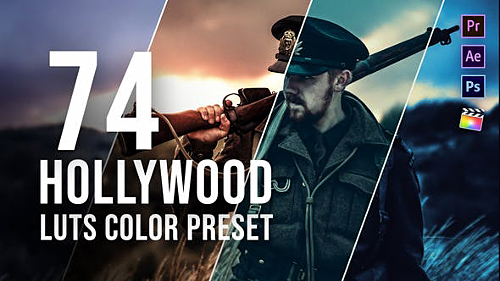 Hollywood LUT Color Grading Pack 26441281 - Project for After Effects (Videohive)