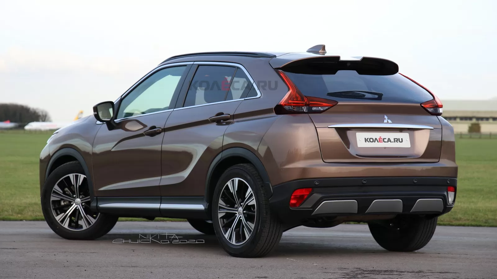 2021 Mitsubishi Eclipse Cross Restyling 12