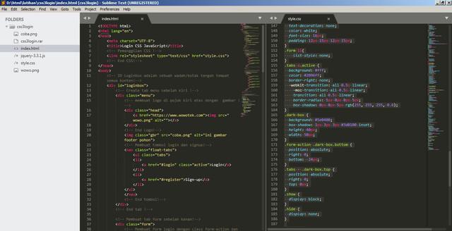 aplikasi coding populer