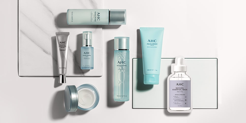 cosmetics products with neat packaging