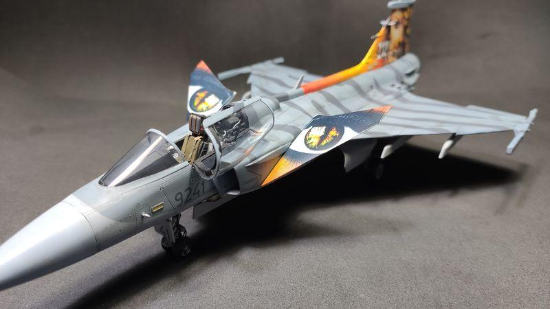"""MT: Jas-39C Gripen """"Wild Tiger"""" NTM 2017 Kitty Hawk 1/48 IMG-20200209-194937"""