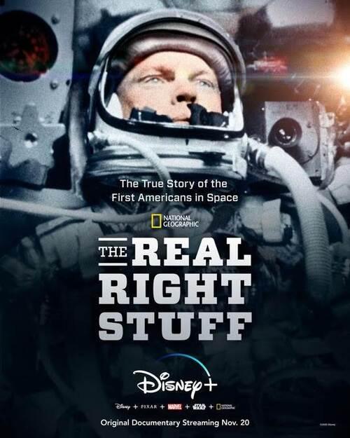 Podbój kosmosu: historia prawdziwa / The Real Right Stuff (2020) PL.720p.DSNP.WEB-DL.x264.DDP5.1-FOX / Lektor PL
