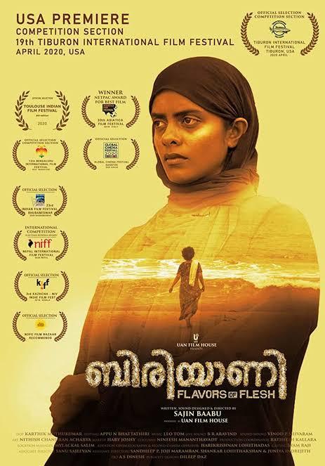 Biriyaani 2021 Malayalam 480p WEB-DL 400MB Esub