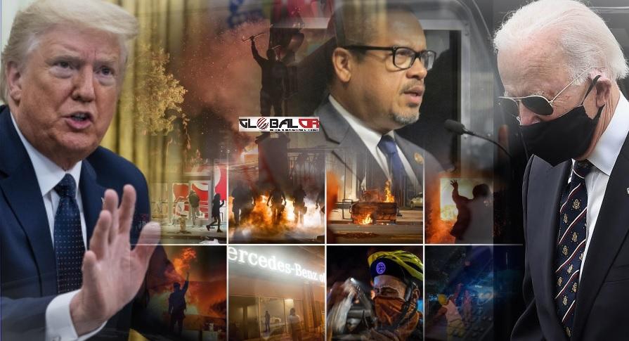 PREDSJEDNIK TRAMP NAJAVIO DA ĆE GRUPA 'ANTIFA' BITI PROGLAŠENA TERORISTIČKOM! Bidenova kampanja donira novac grupama koje pomažu demonstrantima iz Minneapolisa, njemački mediji smatraju da su demonstracije šansa za Trampa ako uspije obuzdati nasilje!