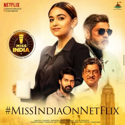 Miss India (2020) Telugu Movie 720p HDRip 700MB Watch Online