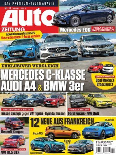 Cover: Auto Zeitung Magazin No 17 vom 04  August 2021