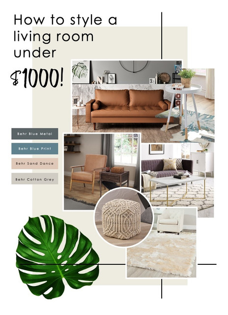 6 Walmart Living Room Furniture Pieces You Can Get All Under 1000 Spacejoy