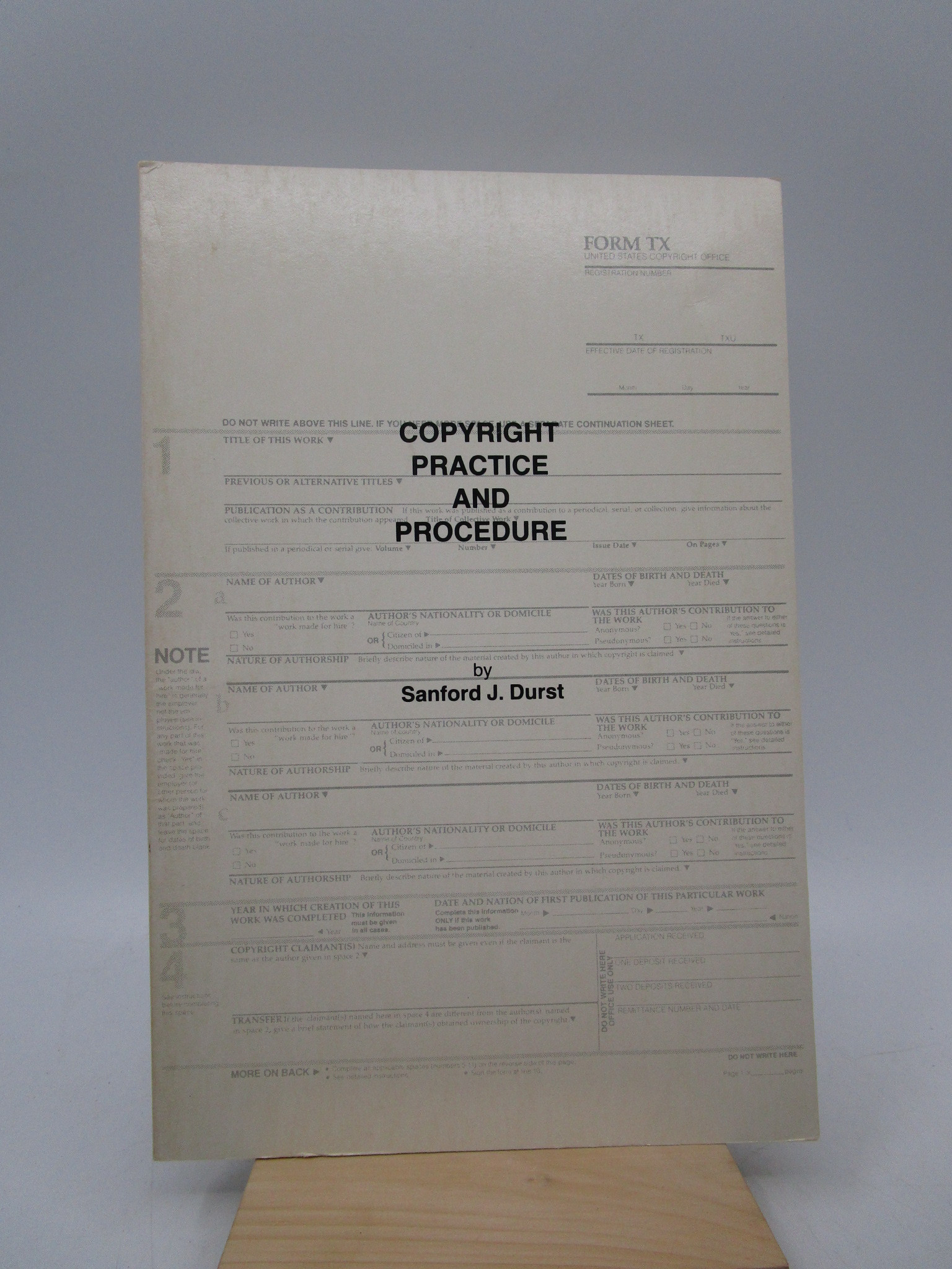 Image for Copyright Practice and Procedure