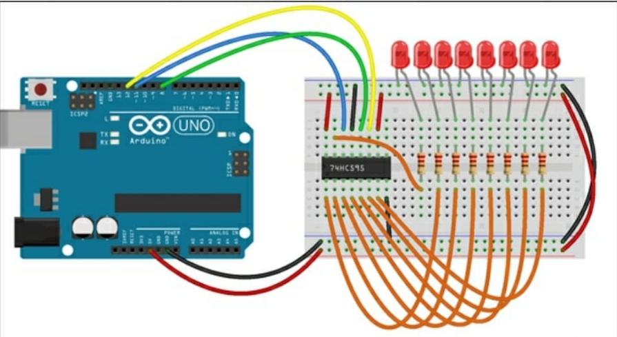 Arduino Grimoire Shift-register