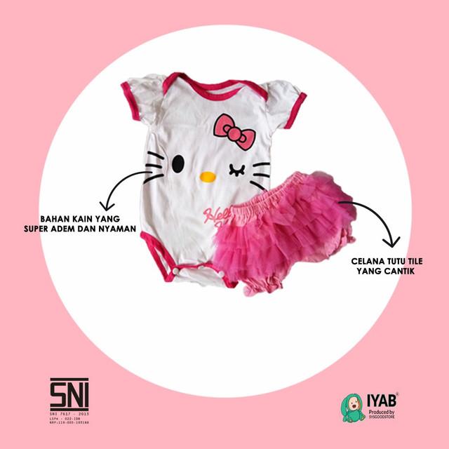 Jumper Bayi Perempuan Hello Kitty