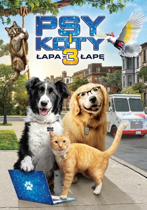 Psy i koty 3: Łapa w łapę / Cats & Dogs 3: Paws Unite (2020) PL.1080p.WEB-DL.x264.DD5.1-FOX / Lektor PL