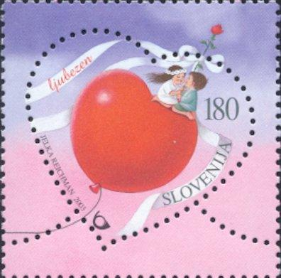 Slovenia stamps GREETING-STAMP