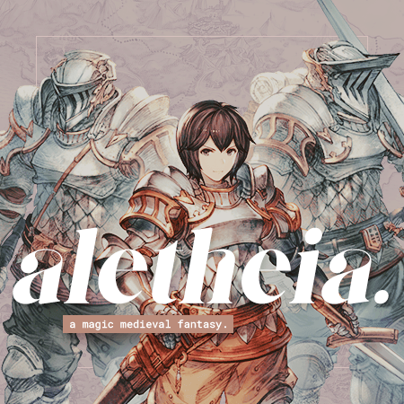 aletheia, a magic-medieval fantasy