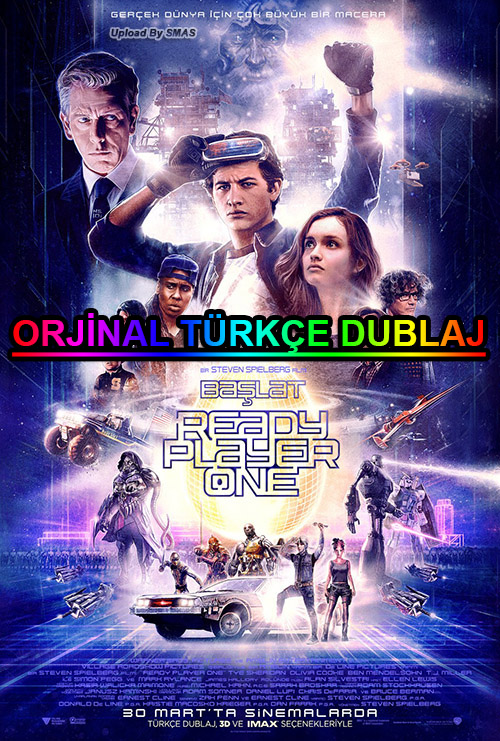 Başlat: Ready Player One | 2018 | BDRip | XviD | Türkçe Dublaj | m720p - m1080p | BluRay | Dual | TR-EN | Tek Link