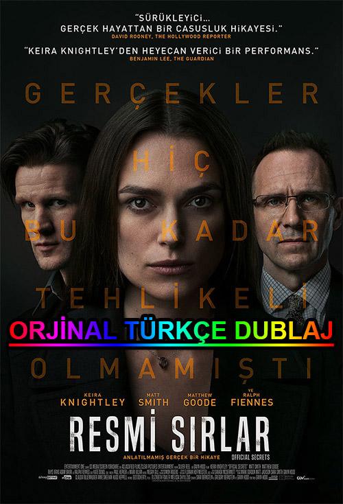 Resmi Sırlar | Official Secrets | 2019 | BDRip | XviD | Türkçe Dublaj | m720p - m1080p | BluRay | Dual | TR-EN | Tek Link