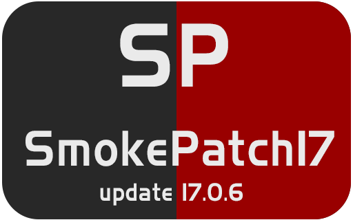 PES2017 SmokePatch17 version 17.0.6