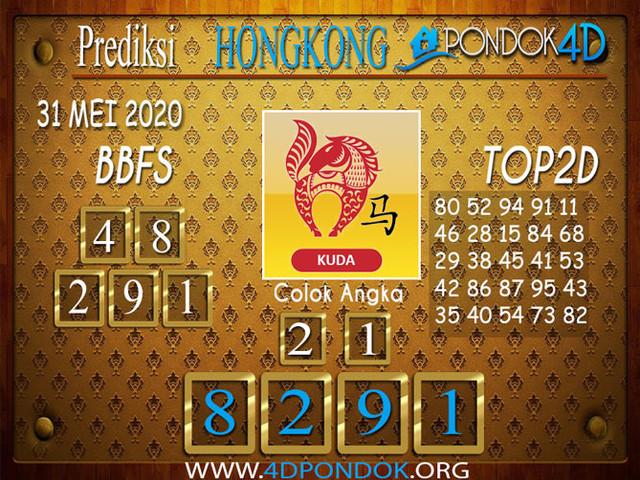 Prediksi Togel HONGKONG PONDOK4D 31 MEI 2020