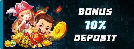 BONUS DEPOSIT HARIAN 10% - TO x12