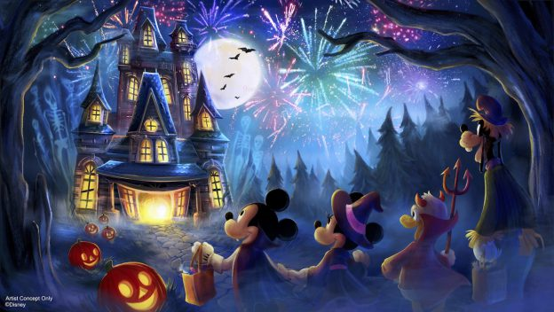 New Disney Halloween firework show