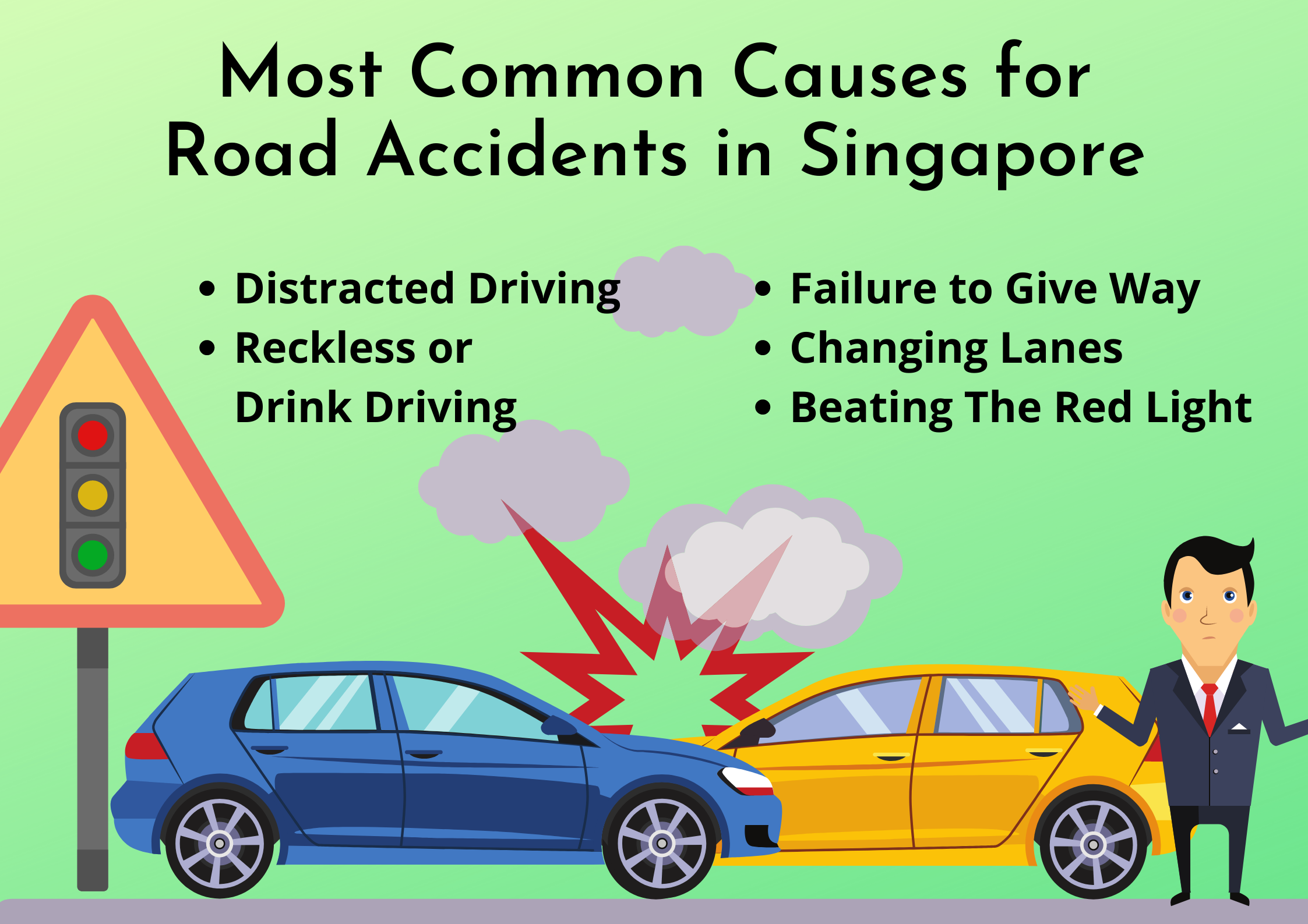 Most-Common-Causes-for-Road-Accidents-in-Singapore