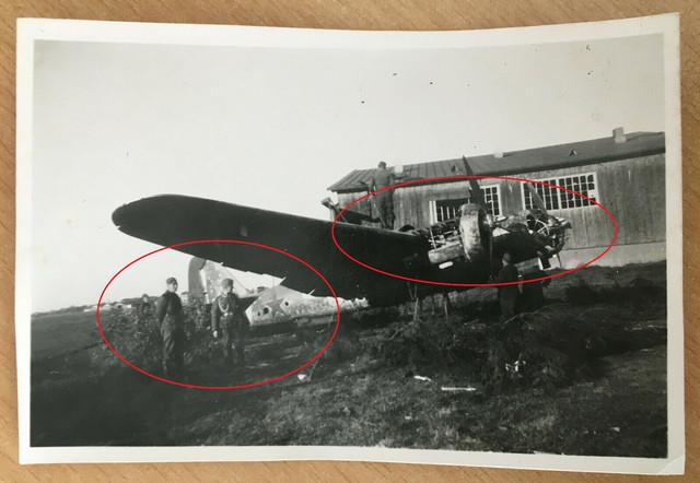 Foto-abgeschossener-russischer-Bomber-Iljuschin-Beute-Tarnung-Camo