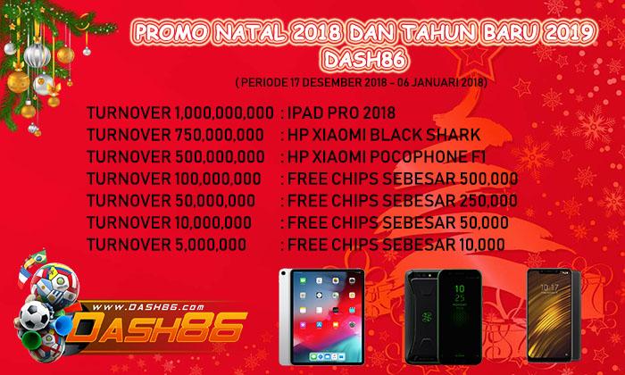 Promotion dash86  2018
