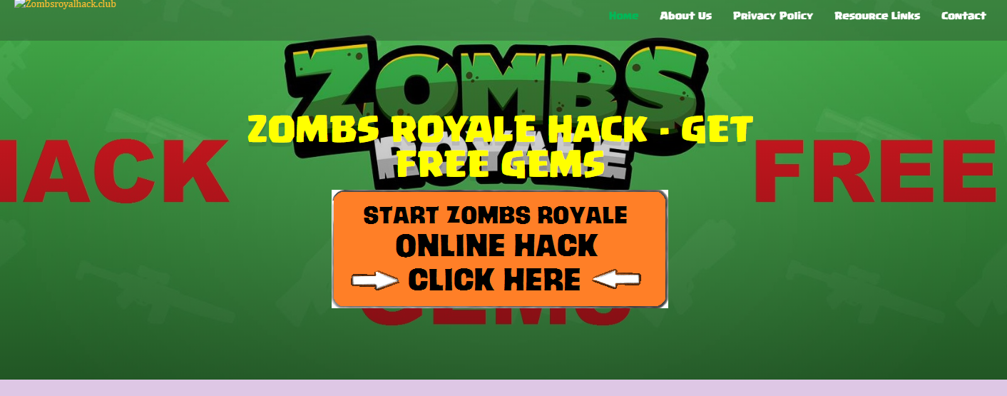 Zombs Royale Hacks and Methods 2020