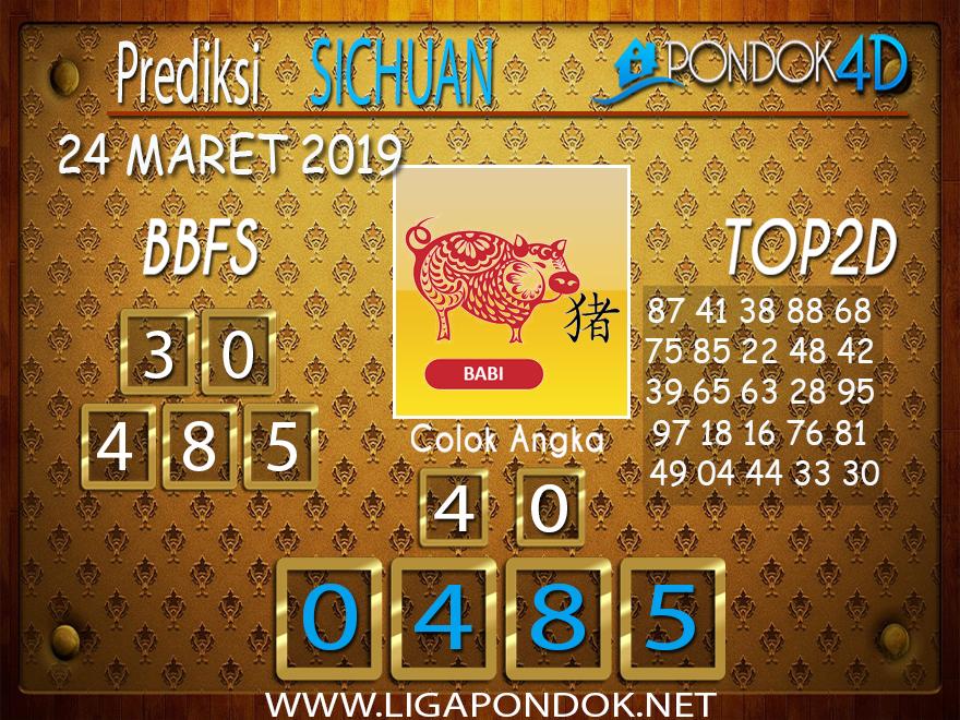 Prediksi Togel SICHUAN PONDOK4D 24 MARET 2019