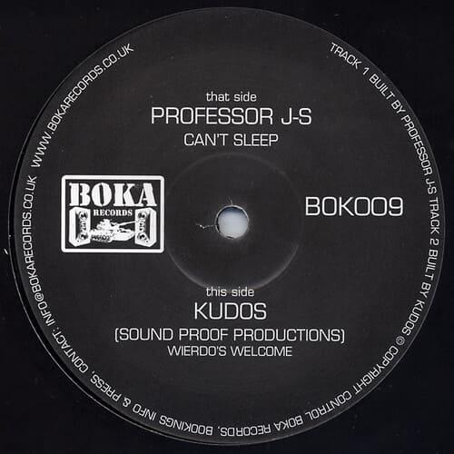 Download Professor J-S / Kudos - Can't Sleep / Weirdo's Welcome mp3