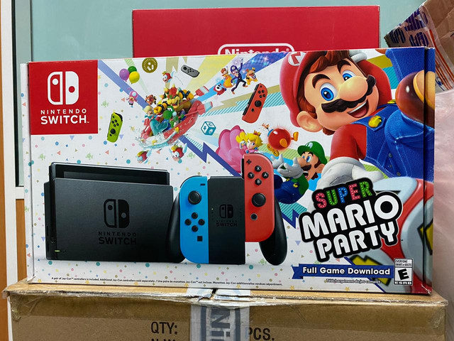 Les différents pack Switch Mario-Party