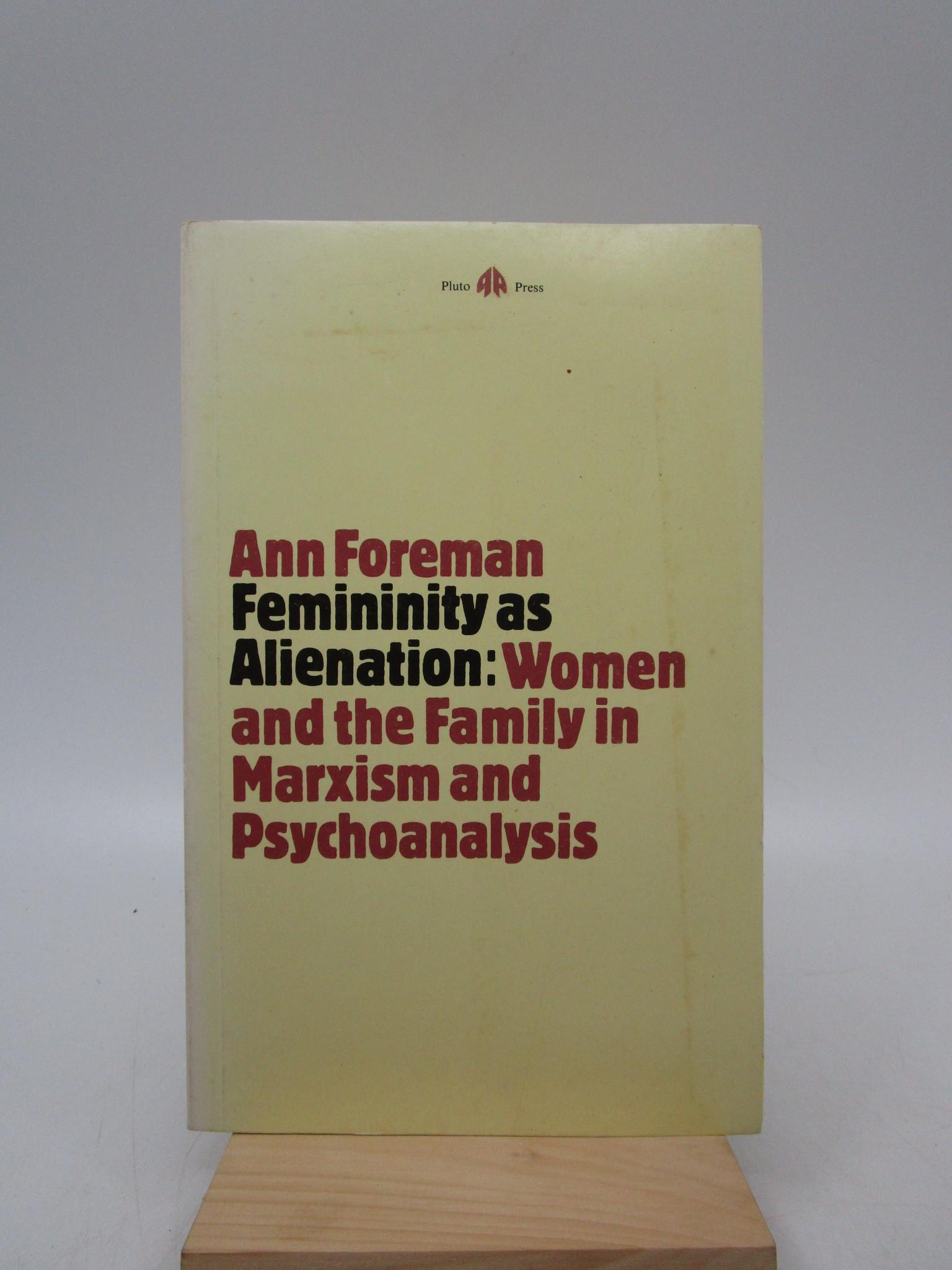 Image for Femininity as Alienation