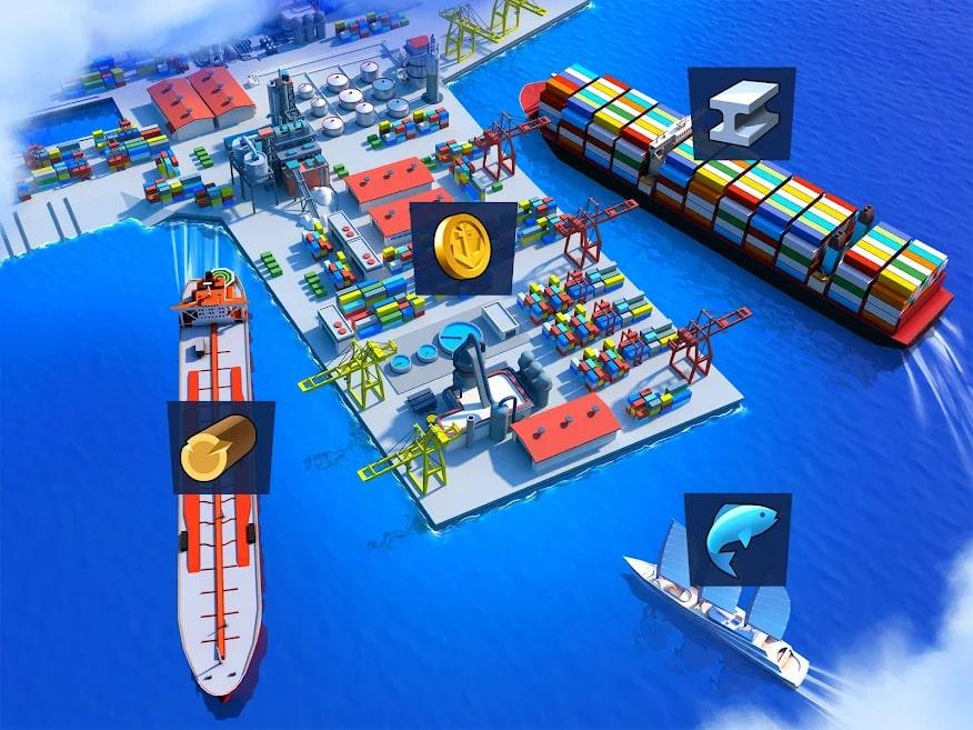 Sea Port: Ship Games 3