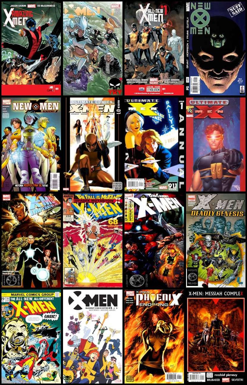 X-Men - Różne Komiksy