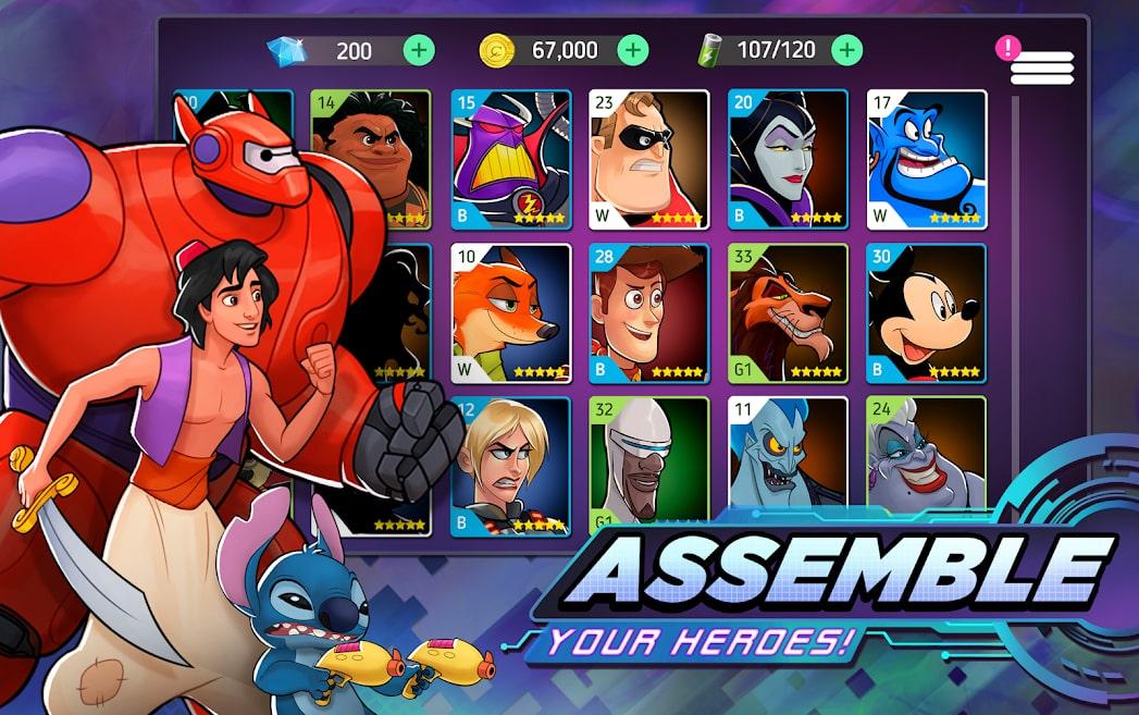 Disney Heroes: Battle Mode 3