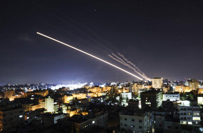 Màxima tensiòn : (Vìdeo) Franja de Gaza: Hamas volvió a atacar Tel Aviv