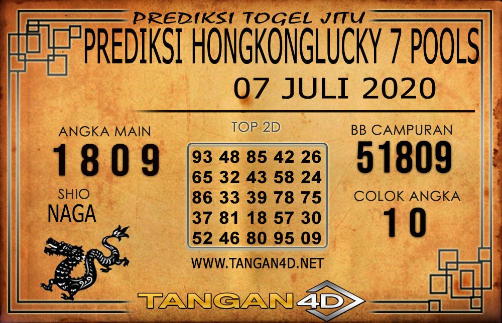 PREDIKSI TOGEL HONGKONG LUCKY 7 TANGAN4D 07 JULI 2020