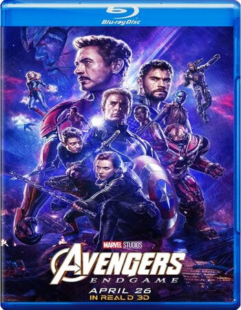 Avengers Endgame (2019) Dual Audio Hindi 720p BluRay x264 AC3 1.1GB ESub