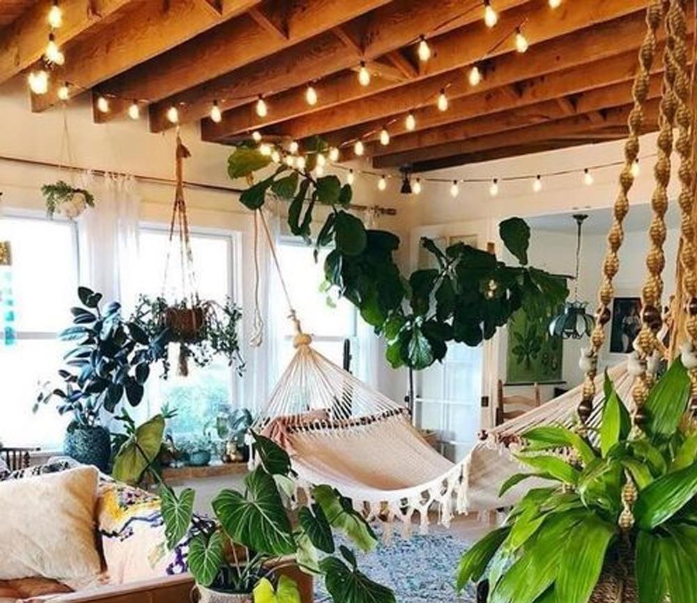 New stylish bohemian interior decoration / #Bohemian #Decoration #Housegoalsfamilies #Interior #Stylish