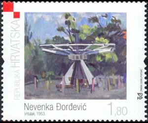 2008. year HRVATSKO-MODERNO-SLIKARSTVO-NEVENKA-OR-EVI