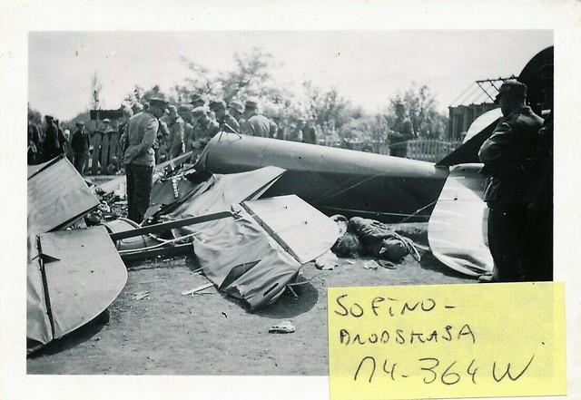 4-GJD-Abgeschossene-russ-Aufkl-Maschine-SOFINO-BRODSKAJA-bei-SNESNOJE