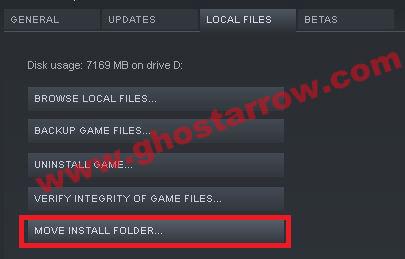 move install folder