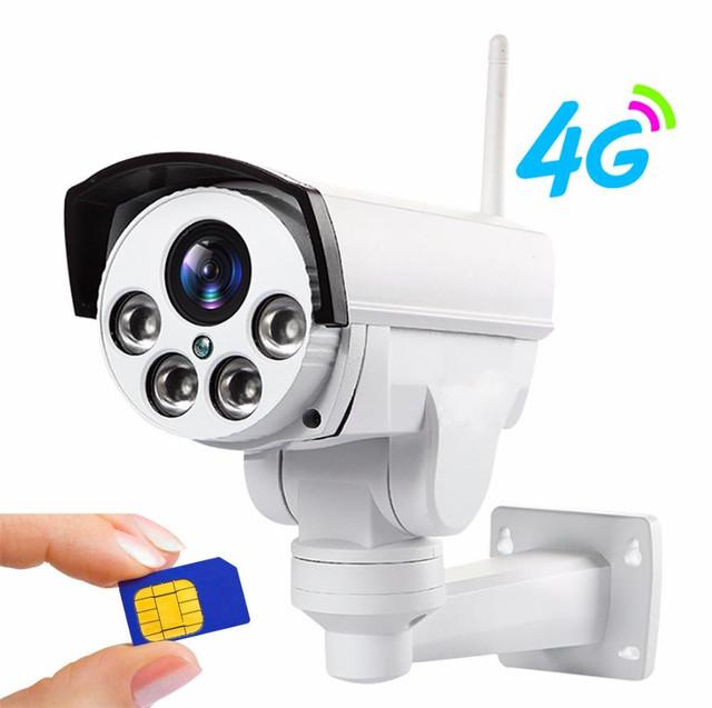 4G видеонаблюдение