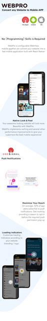 WEBPRO | Configurable WebView Mobile Application - 1