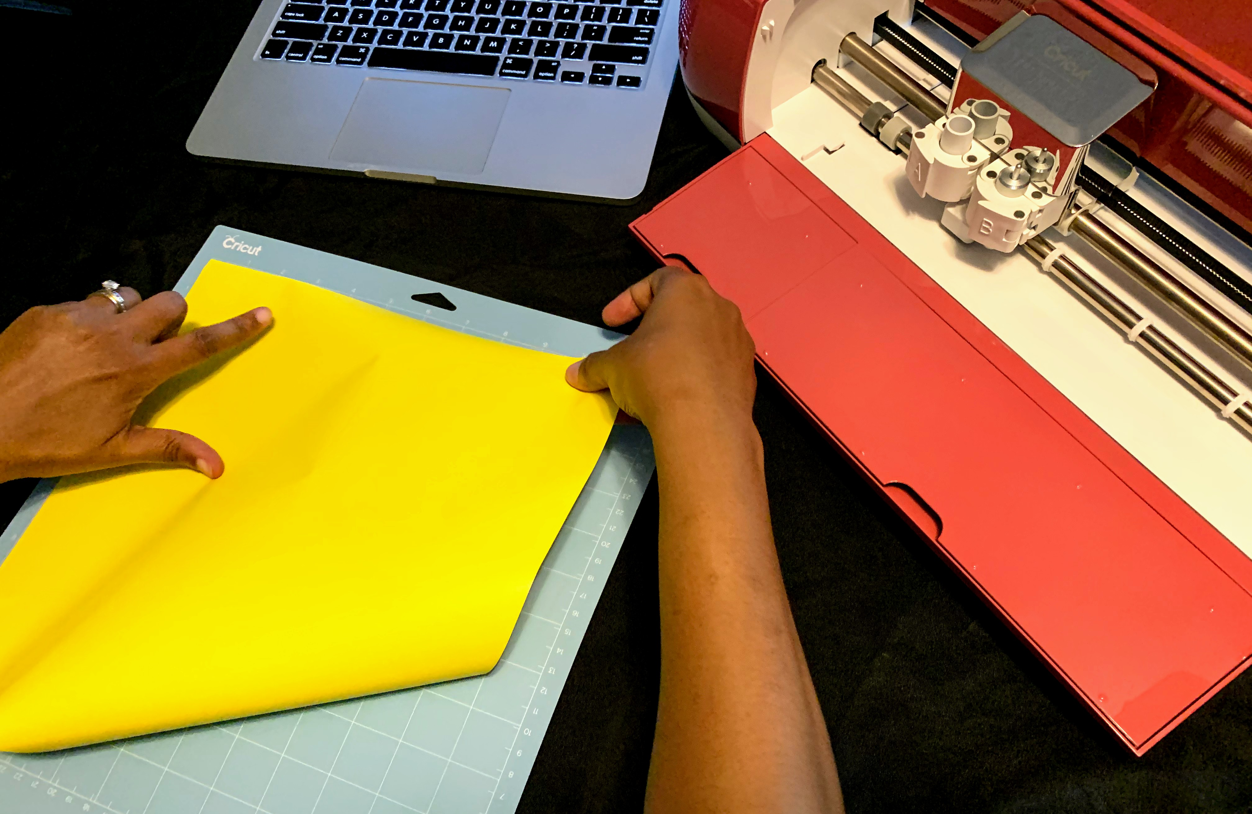 Creating a simple project with Cricut Explore Air2