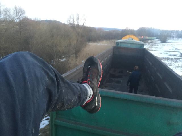 Всі ноги в болоті