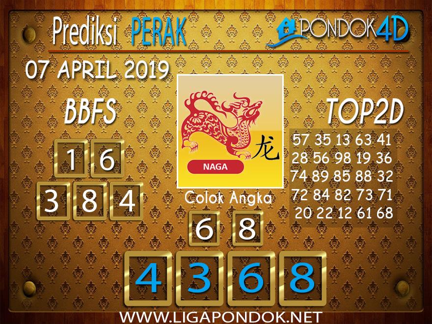 Prediksi Togel PERAK PONDOK4D 07 APRIL 2019