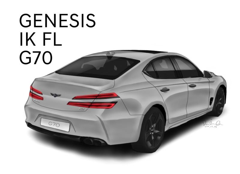 2021 Genesis G70 Restyling 20