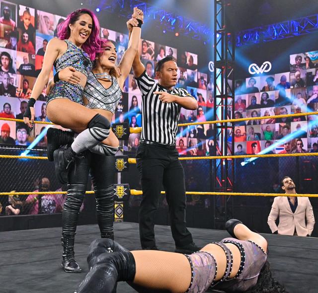 Dakota Kai y Raquel vencen a Robert Stone Dusty Rhodes Women NXT 27 enero