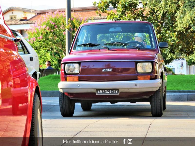 Raduno Auto d'epoca - Trecastagni (CT) - 21 Luglio 2019 Fiat-126-Red-650-31cv-80-TV453341-4