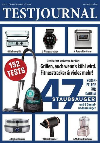 Cover: Testjournal Magazin Oktober-November No 06 2021